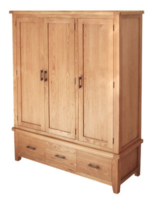 Hampshire 3 Door Wardrobe Wogan Interiors