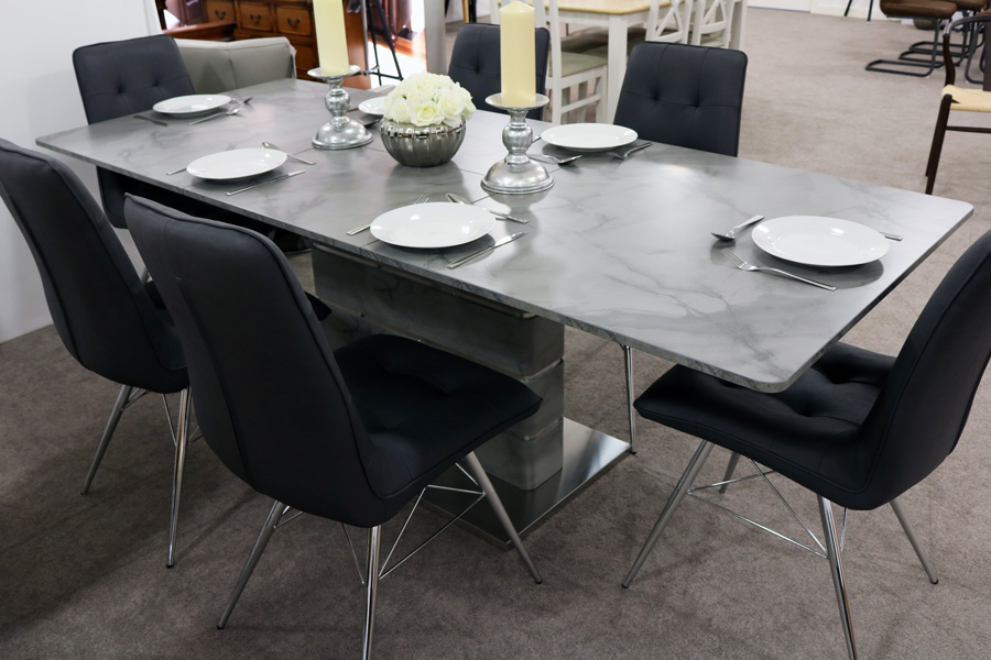 Vancouver Extending Dining Table 1600mm-2200mm - Wogan ...